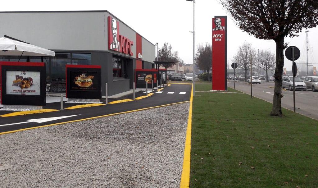 KFC - Ristorante drive